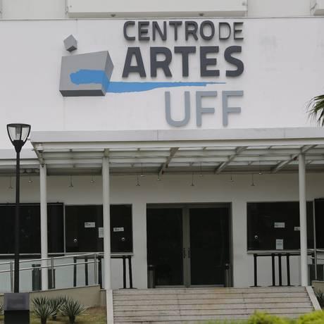Centro de Artes da UFF está fechado devido greve na universidade Foto: Felipe Hanower / Agência O Globo