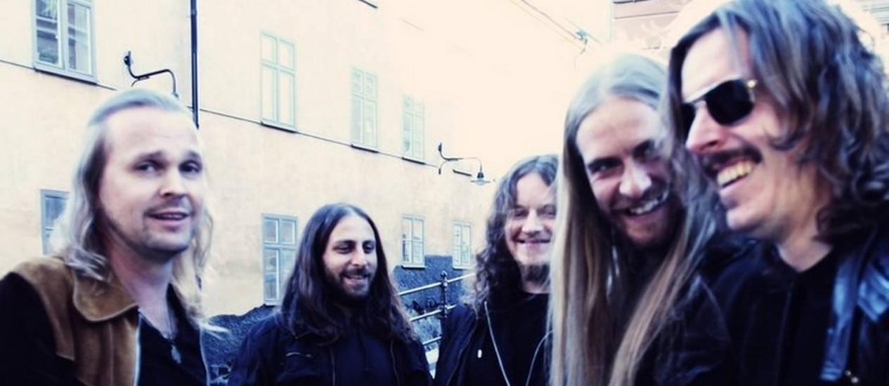 Plural. Com seu 11º álbum, o Opeth conquistou admiradores alheios ao metal Foto: Divulgação / Divulgaçã