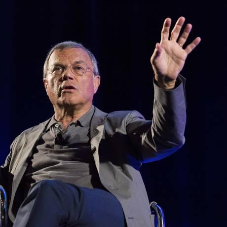 US$ 27 bilhões. Para Martin Sorrell, revisões de contrato são oportunidade Foto: Christophe Morin / Christophe Morin/Bloomberg
