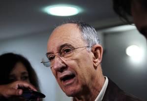 O presidente nacional do PT Rui Falcão Foto: Fernando Donasci / 25-06-2015