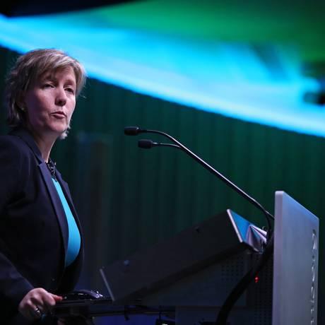 Maria Luís Albuquerque, ministra das Finanças de Portugal Foto: Chris Ratcliffe / Bloomberg/05-5-2015