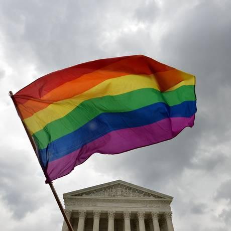 Suprema Corte dos EUA tornou legal o casamento homossexual nos Estados Unidos Foto: MLADEN ANTONOV / AFP