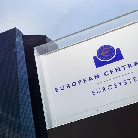 Sede do Banco Central Europeu em Frankfurt Foto: Daniel Roland / AFP