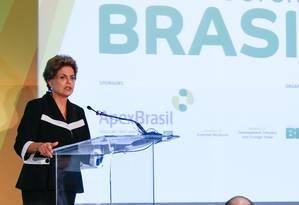 Dilma participa em Nova York do Encontro Empresarial sobre Oportunidades de Investimento em Infraestrutura no Brasil Foto: Divulgação