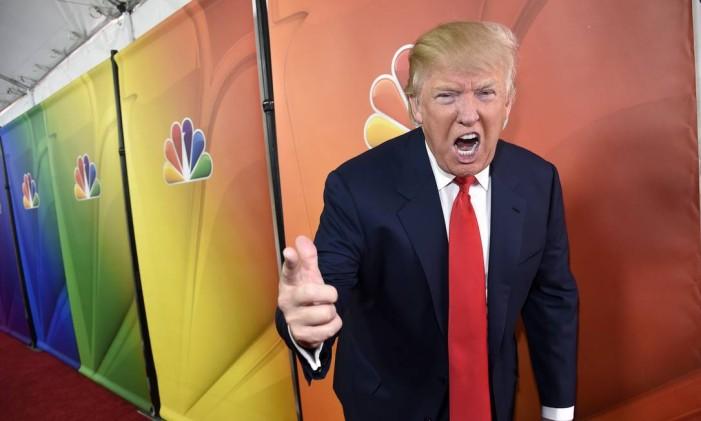 Trump era um dos ícones da NBC Foto: Chris Pizzello/Invision/AP