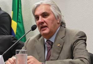 O senador Delcídio Amaral (PT-MS) Foto: Ailton de Freitas/23-4-2013 / Agência O Globo