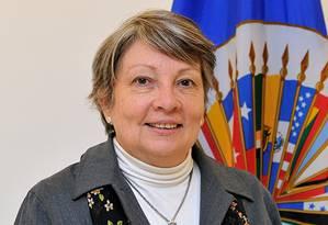 Comissária e relatora dos Direitos da Criança e do Adolescente da Comissão Interamericana de Direiros Humanos (CIDH), a paraguaia Rosa María Ortiz Foto: Divulgação / CIDH