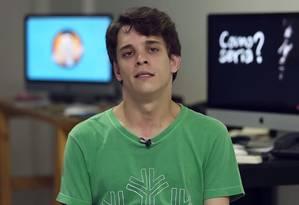 Daniel Gonçalves, de 31 anos, pede contribuições para realizar seu primeiro longa-metragem: 'Como seria?' Foto: Reprodução