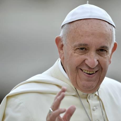 Papa Francisco fará viagem para Cuba e Estados Unidos, em setembro Foto: FILIPPO MONTEFORTE / AFP