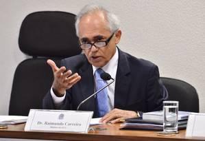 O ministro do Tribunal de Contas da União (TCU) Raimundo Carreiro Foto: Terceiro / Agência Senado 19/03/2013