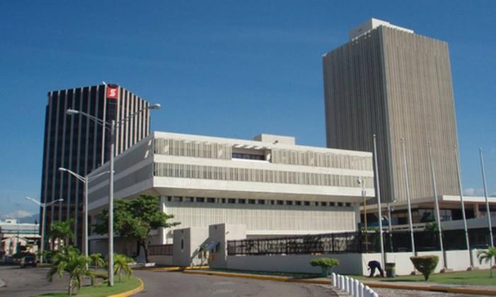 Sede do Banco Central da Jamaica Foto: Wikipedia/reprodução