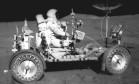 Corrida espacial. O Lunar Roving Vehicle usado nas missões Apollo XV entre 1971 e 1972: máxima de 18km/h Foto: Divulgação / Nasa