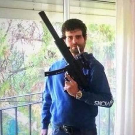 Carlos Nair Menem já havia sido preso no mesmo mês por caso com armas e cocaína Foto: Reprodução