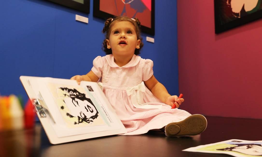 A mostra terá dois dias dedicados aos pequenos, que viverão uma imersão na arte Foto: / Divulgação/Multifato Comunicação