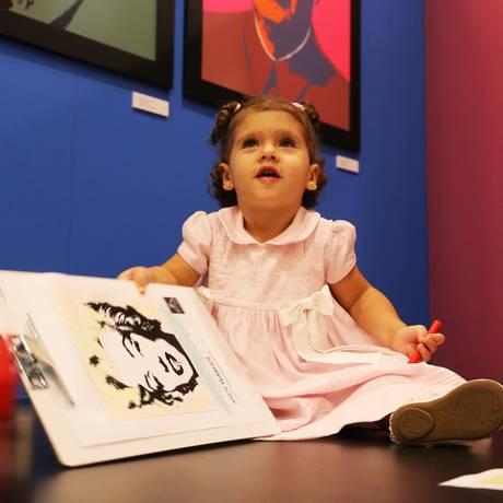 A mostra terá dois dias dedicados aos pequenos, que viverão uma imersão na arte Foto: Divulgação/Multifato Comunicação