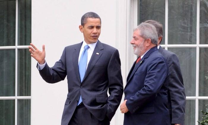 Barack Obama e Lula na Casa Branca Foto: MICHAEL REYNOLDS / EFE