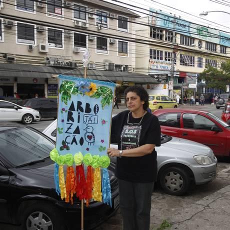 De olho. Alice Giannini, premiada pelo Rio 450: medo de projeto não vingar Foto: Eduardo Naddar / Agência O Globo