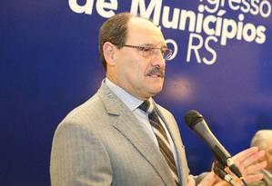 O governador do Rio Grande do Sul, José Ivo Sartori (PMDB) Foto: Luiz Chaves / / Divulgação