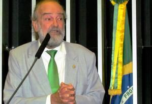 """Deputado do PV, José Luiz Penna, diz ter votado por """"equívoco"""" a favor da redução da maioridade penal nesta terça-feira Foto: Reprodução / Facebook"""