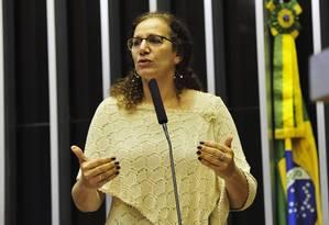 A deputada federal Jandira Feghali (PCdoB-RJ) Foto: Agência Câmara
