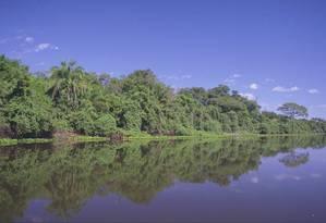Bacia do Rio Paraguai corre risco de ver alterado seu fluxo de águas Foto: Jorge William