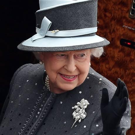 Fortuna da rainha Elizabeth II é estimada em US$ 534 milhões, segundo publicação Foto: RONNY HARTMANN / AFP