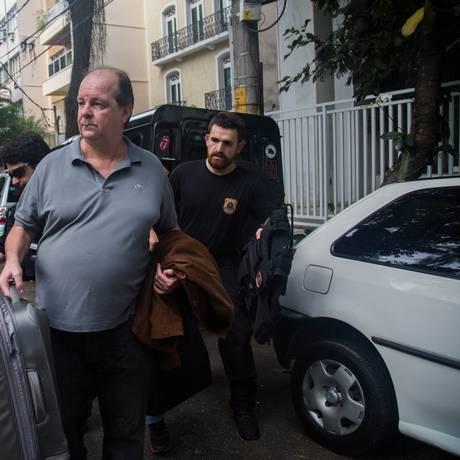 O ex-diretor da área internacional da Petrobras Jorge Zelada foi preso na 15ª fase da Operação Lava-Jato Foto: Mauro Pimentel/Folhapress