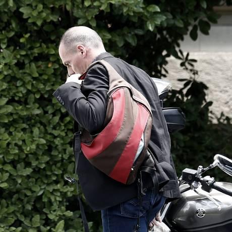 Yanis Varoufakis, ministro de Finanças da Grécia Foto: Kostas Tsironis/28-6-2015 / Bloomberg News