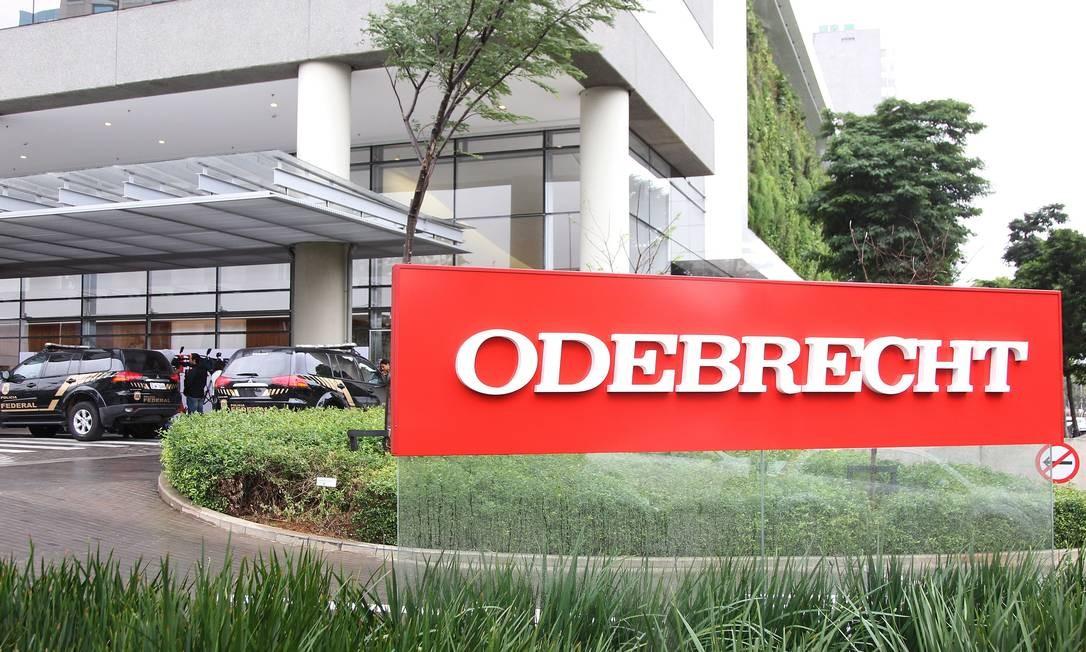 Sede da Odebrecht na Zona Oeste de São Paulo Foto: Michel Filho / Agência O Globo