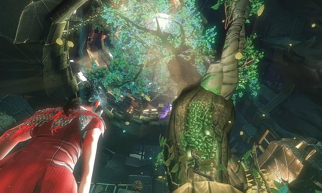 Imagem do jogo, feito pela produtora gaúcha Swordtales com R$ 350 mil captados via Lei Rouanet Foto: / Divulgação