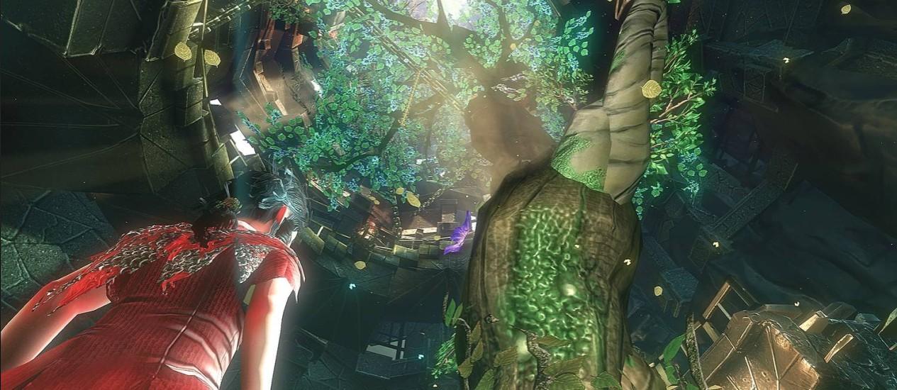 Imagem do jogo, feito pela produtora gaúcha Swordtales com R$ 350 mil captados via Lei Rouanet Foto: Divulgação