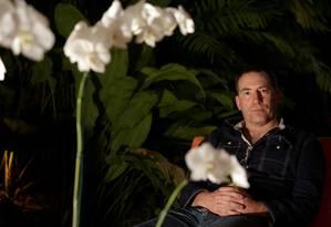 O jornalista e escritor inglês Ioan Grillo é um dos substitutos do italiano Roberto Saviano Foto: André Teixeira / Agência O Globo