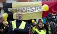 Protesto contra a eutanásia na Bélgica, no ano passado: país é um dos poucos onde a prática é permitida por lei