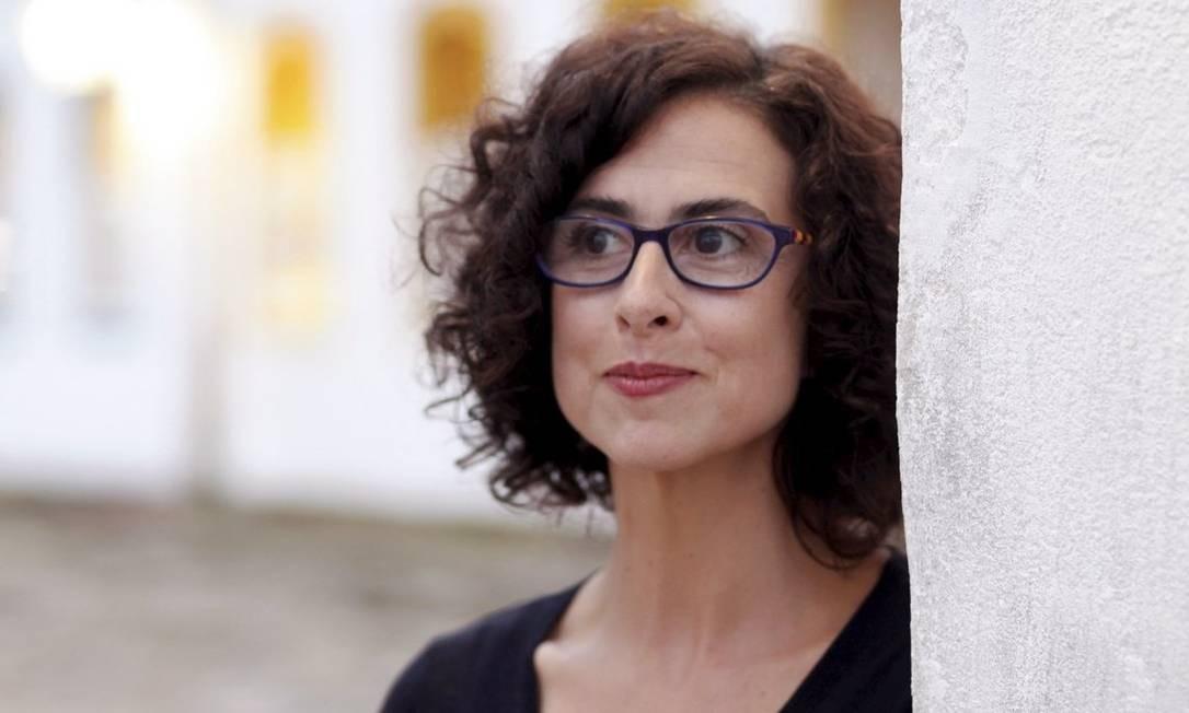 Alexandra Lucas Coelho, em Paraty: olhar estrangeiro Foto: Gustavo Stephan