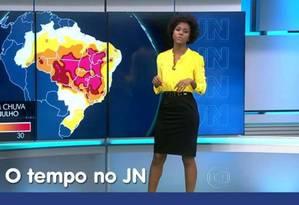 Maria Júlia Coutinho é alvo de comentários racistas na internet Foto: Reprodução