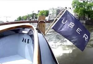 Uber vai lançar serviço de transporte em barcos Foto: Reprodução