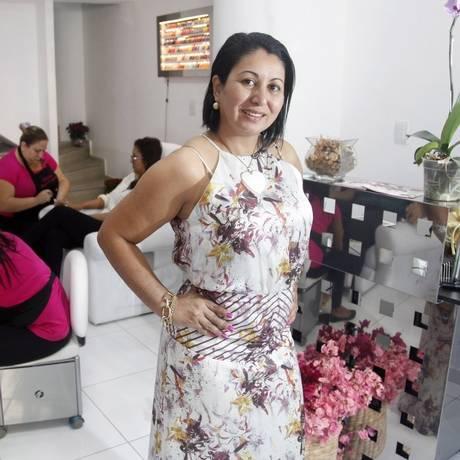 Elis lançou o Super Diva, no spa: tratamentos, música, drinques e petiscos Foto: Fabio Rossi/ Agência O Globo