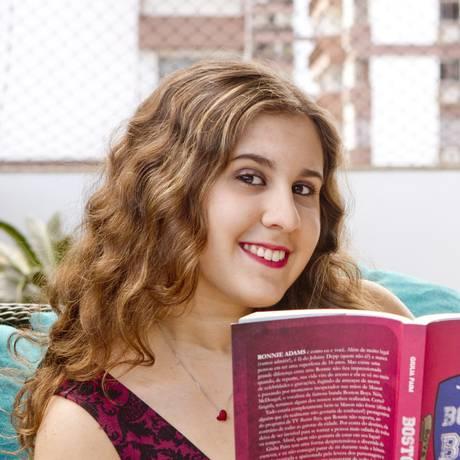 Giulia Paim: palestra nas escolas para incentivar leitura Foto: Agência O Globo / Bia Guedes
