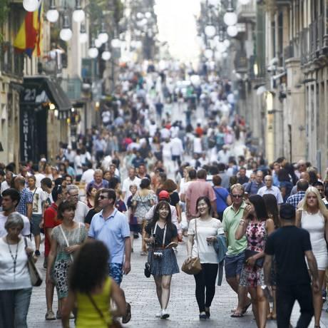 De acordo com a pesquisa, a Espanha é um dos países que tem recebido recentemente uma grande quantidade de imigrantes Foto: QUIQUE GARCIA / AFP