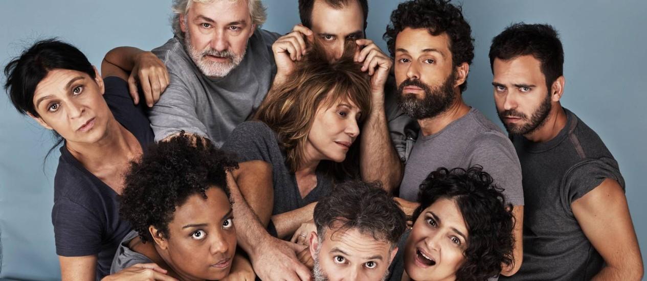 'Krum': primeira montagem brasileira de texto do israelense Hanoch Levin Foto: Divulgação