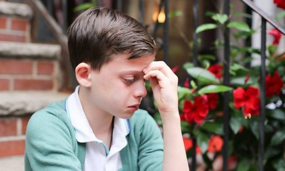 'Sou homossexual e tenho medo sobre meu futuro', diz criança em foto que comove a web
