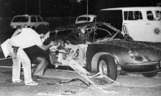 Riocentro. Bomba matou sargento que era agente do DOI-Codi Foto: Agência O Globo / Anibal Philot/30-4-1981