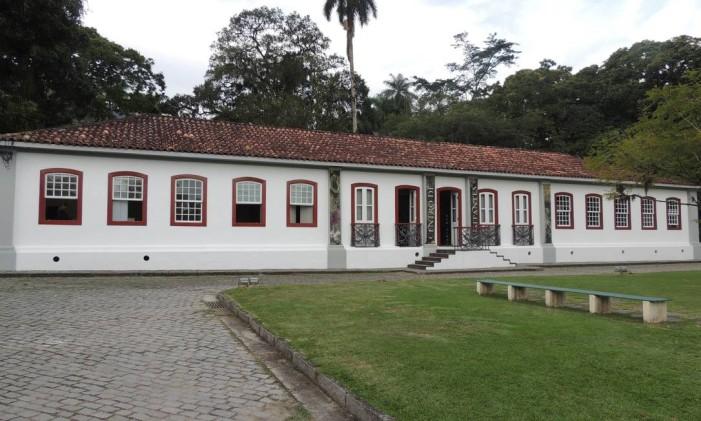 O Centro de Visitantes do Jardim Botânico Foto: Adélia Duarte