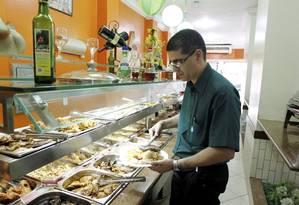 Alimentação fora de casa: preços em alta no Brasil Foto: Gabriel de Paiva/8-9-2014 / Agência O Globo