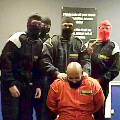 Grupo fez a piada com jihadistas, mas acabou chorando Foto: Reprodução