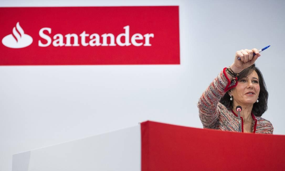 Ana Botín, presidente do Santander, confirma interesse pelo HSBC Brasil
