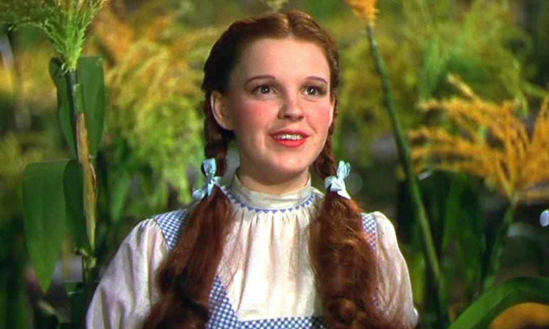 Cena de 'O Mágico de Oz', de 1939 Foto: Arquivo