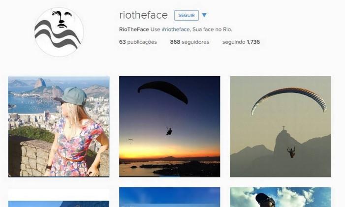 Perfil @riotheface no Instagram Foto: Reprodução