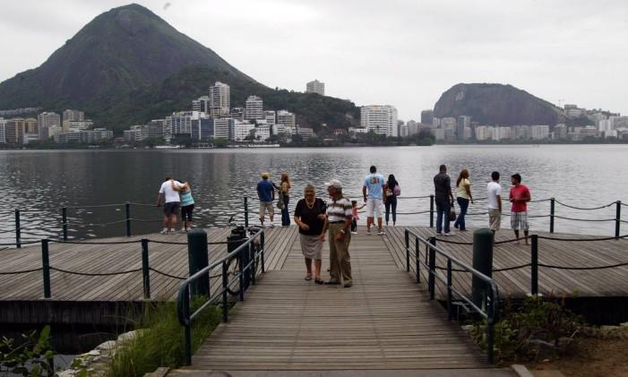 O Parque dos Patins, na Lagoa Foto: Felipe Hanower / Agência O Globo