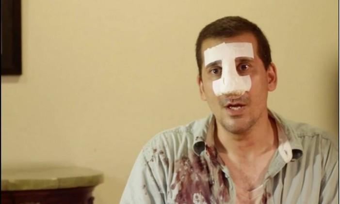 Antonio Rodiles, agredido e detido em Cuba Foto: Reprodução do Twitter